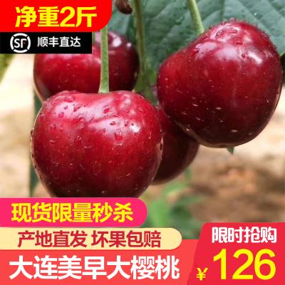 【順豐現發】美早大櫻桃車厘子 2斤單J 單果26-28mm 新鮮水果 蘇寧生鮮 陳小四水果