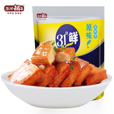【鹽津鋪子 31°鮮魚豆腐】湖南特產小吃辦公室零食原味600g