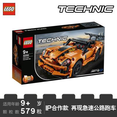 LEGO樂高 Technic機械組系列 Chevrolet Corvette ZR1 跑車42093
