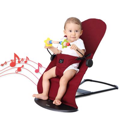 海の心家具(HAIZHIXIN)哄娃神器婴儿摇摇椅自动安抚哄睡神器送礼品宝宝摇篮躺椅音乐抖音