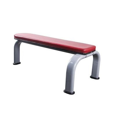 臥推凳啞鈴平凳飛鳥凳舉重床臥推架杠鈴魅扣凳商用平凳健腹板商用私教 百晟C款平凳紅色皮革