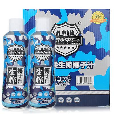 6瓶箱裝 特種兵生榨椰子汁植物蛋白飲料 1.25升*6瓶 蘇薩食品 飲料