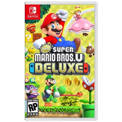 【國行來襲】任天堂(Nintendo)Switch Token NS游戲 新超級馬力歐兄弟U 豪華版 游戲兌換卡