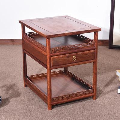 藤印象红木家具 花梨木小茶几 简约迷你中式实木茶台小方桌沙发边几角几