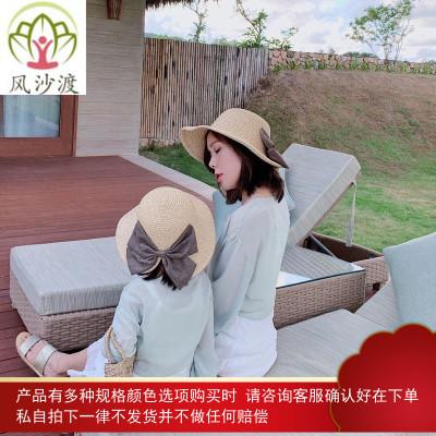 亲子装夏季时尚洋气母女装雪纺女童防晒外套披肩图片件数为展示