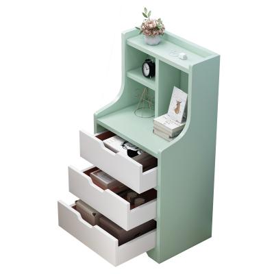 古达简易床头柜小置物架简约现代北欧多功能储物柜收纳卧室简易床边小柜子