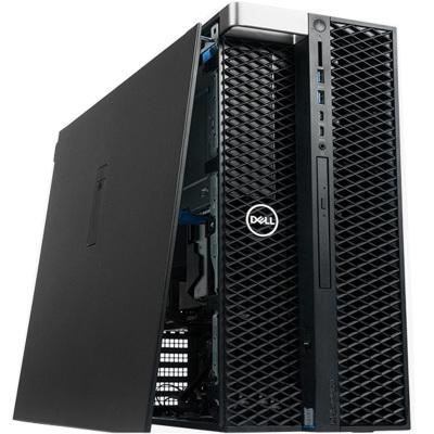 戴爾(DELL) Precision T5820塔式圖形工作站臺式機電腦主機三維建模工作站T5810升級W-2135 128G丨 1T NVMe SSD丨GP100