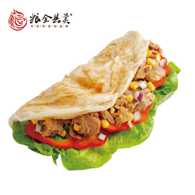 糧全其美原味手抓餅24片面餅家庭裝早餐明星款臺灣煎餅手撕餅