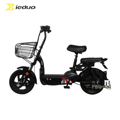 小刀电动车 一多(ieduo)电动车 3C新国标48V男女滑板车成人电瓶车两轮电动自行车 X2