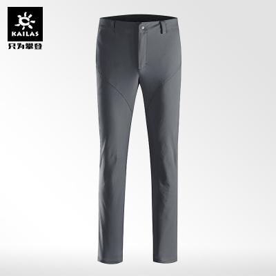 凯乐石软壳裤男 户外力防风防泼水保暖透气商旅登山徒步裤