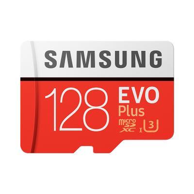 三星(SAMSUNG) microSDXC UHS-1存儲卡128G升級版+SD卡適配器 讀取100m/s寫入90m/s