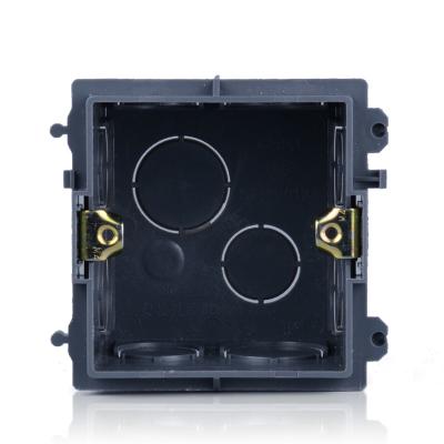 正泰 開關插座面板86型暗盒底盒暗裝線底盒面板開關盒NEH1-012開關插座底盒