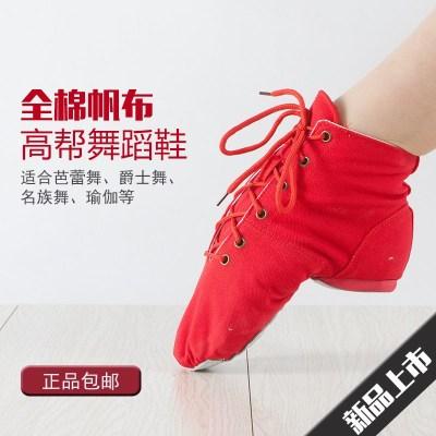 爵士舞蹈鞋软底女童跳舞鞋练功鞋成人幼儿瑜伽鞋芭蕾舞鞋男猫爪鞋