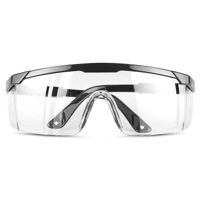 普萊斯(pulaisi)【防霧護目鏡】唾沫飛濺 防飛塵防霧護眼非醫用防護鏡眼鏡 [1副裝]防霧黑色款 護目鏡36小時內發