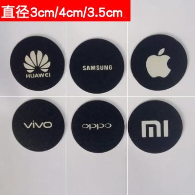 精品磁力手機支架吸盤磁鐵片引磁片吸鐵石車載薄款貼片粘貼式圓片