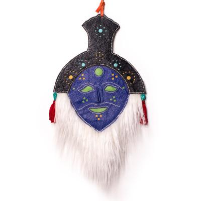 【中華特色館】西藏館 番德林 民族手工藝品面具 藏式面具 名族特色卡通玩具