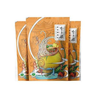 李子柒 柳州螺蛳粉 正宗广西特产螺丝粉酸辣米线方便速食袋装335g*3袋