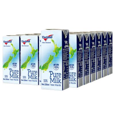 新西蘭進口Theland紐仕蘭3.5g蛋白質高鈣全脂純牛奶(家庭裝)250ml*24盒