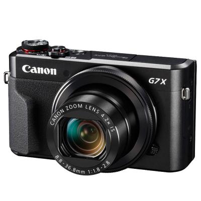 佳能(Canon) PowerShot G7 X Mark II 数码相机 约2010万像素 3英寸屏