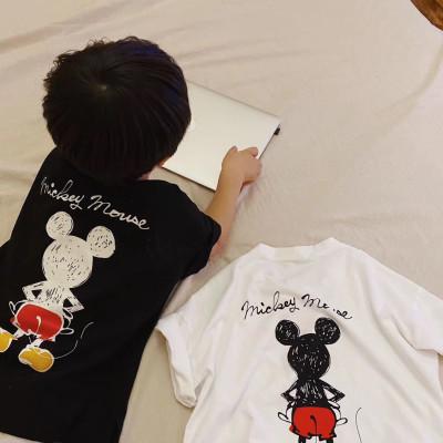 【親子裝】2020新款夏裝純棉母女裝父子家庭一家三口情侶短袖T恤