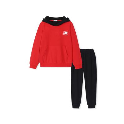 巴拉巴拉童装男童秋装2019新款儿童套装小孩衣服撞色韩版运动长袖