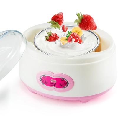 小浣熊家用酸奶機多功能全自動自制小型發酵玻璃分杯納豆米酒神器