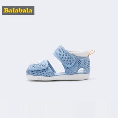 巴拉巴拉男童學步鞋軟底防滑女寶寶鞋子1-3歲嬰兒新款夏透氣