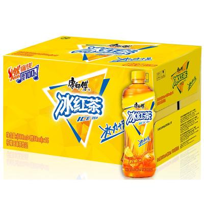康師傅 冰紅茶檸檬味500ml/550ml*15瓶(新老包裝隨機發貨)