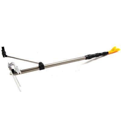 佳釣尼(JIADIAONI)鋁合金 炮臺支架竿架 手竿臺釣竿支架 單支架 竿架