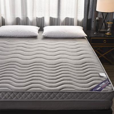 丝洛曼(SNOMN)家纺 天然乳胶记忆棉3D立体加厚床垫1.5米海绵软垫单人1.2m学生宿舍榻榻米双人家用垫子四季通用