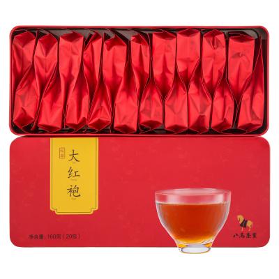 八马茶业 私享系列 大红袍 乌龙茶岩茶茶叶礼盒装160克
