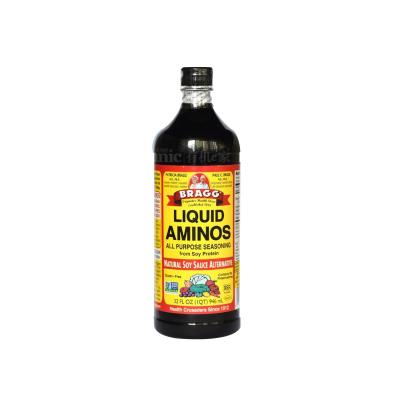 进口Bragg氨基酸 无盐 非转基因儿童酱油营养家庭装946ml