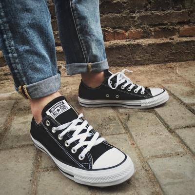 正品Converse匡威男鞋經典款女鞋情侶鞋輕質舒適休閑帆布鞋101001 W1
