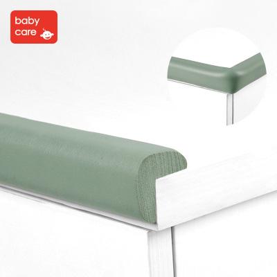 babycare寶寶安全防撞條嬰兒防護包邊條加厚加寬兒童桌角護角2米防撞加厚角 L型霧綠 4010