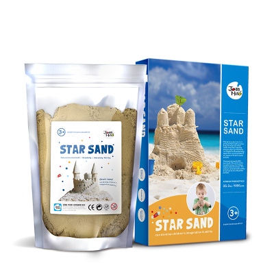 Joan Miro 美樂童年兒童星空沙寶寶魔力太空粘土沙動力玩具沙灘超輕玩具沙子套裝 星空沙1KG裝 創意玩具