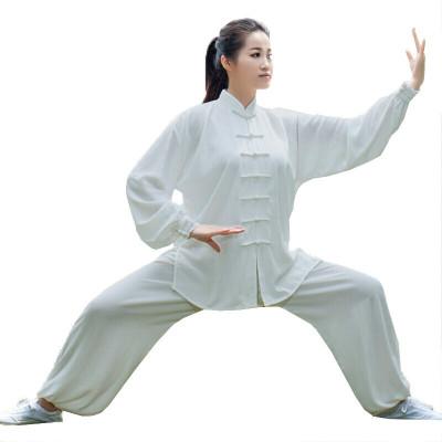 太极服男女武术服练功服太极拳服装健身气动服晨练服表演服套装