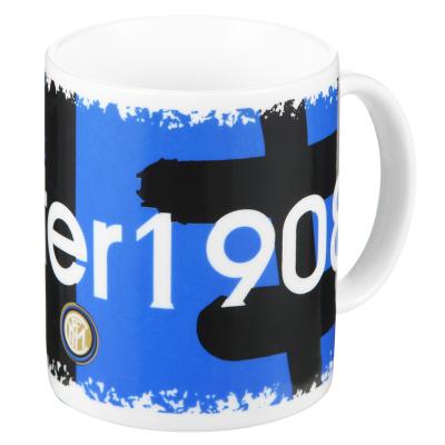 国际米兰俱乐部Inter Milan创意官方定制经典办公家用陶瓷马克水杯