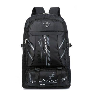 【可擴容】65升大容量行李包雙肩包戶外旅行背包男女登山包旅游 諾妮夢