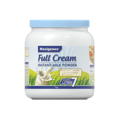 澳洲進口美可卓藍胖子青少中老年學生孕婦成人全脂高鈣奶粉1kg