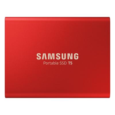 三星(SAMSUNG)移动固态硬盘PSSD T5 1TB USB 3.1 红色版