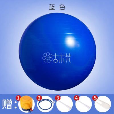 古米梵瑜伽球正品65cm55cm加厚防滑專業防爆健身球兒童孕婦助產彈力球男女通用