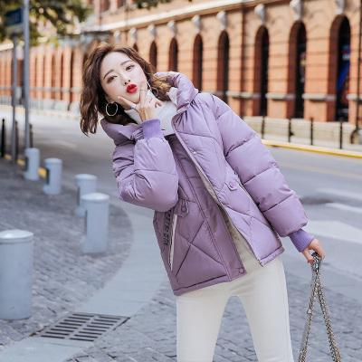 班俏BANQIAO棉服2020新款棉衣韓版寬松面包服女冬裝外套短款小棉襖潮