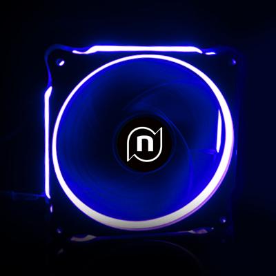 寧美國度 N系列臺式電腦主機靜音風扇 LED炫光12CM機箱散熱風扇 N3