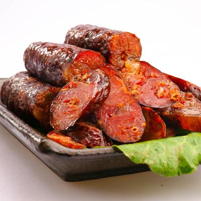 美綴美土豬麻辣臘腸250g重慶四川特產煙熏肉農家自制川味香腸臘肉