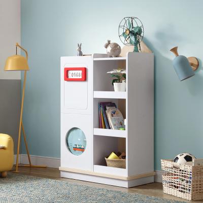 林氏木业 储物柜 简约儿童斗柜卧室白色小储物柜类置物柜人造板式柜EQ1G