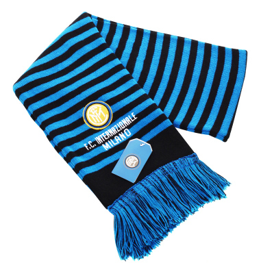 國際米蘭俱樂部Inter Milan男女官方百搭運動戶外精品針織圍巾