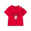 巴拉巴拉童装女童短袖T恤小童宝宝夏装2019新款露肩儿童上衣韩版