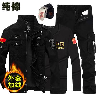 冬季工作军工迷彩服套装男特种兵军训服作训服正品军装耐磨加厚