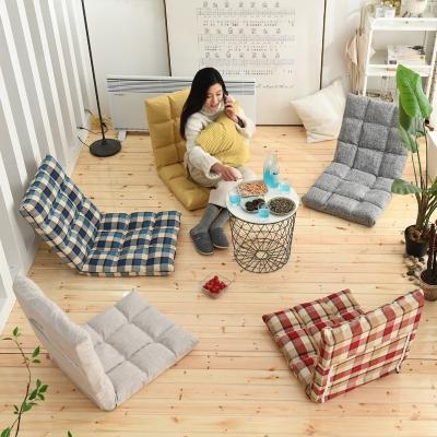 懒人沙发榻榻米单人沙发可折叠床上宿舍电脑卧室阳台飘窗靠背椅子