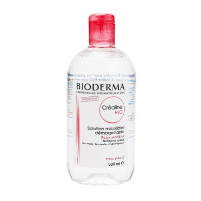 【義烏保稅發貨】BIODERMA/貝德瑪 舒妍溫和保濕卸妝水 500毫升 粉水 適合中干皮膚